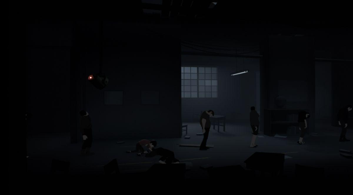 Кадр из игры Inside - зомби