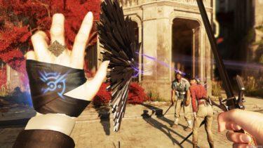 Кадр из игры dishonored 2