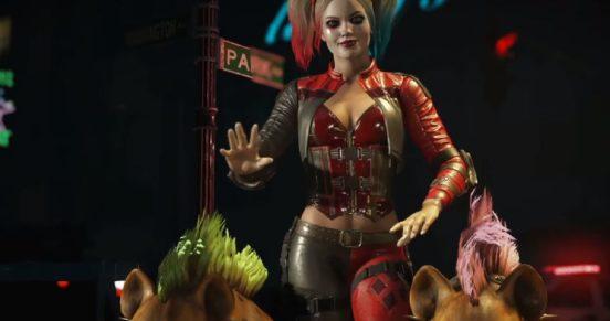 Харли Квинн - Кадры из игры Injustice 2