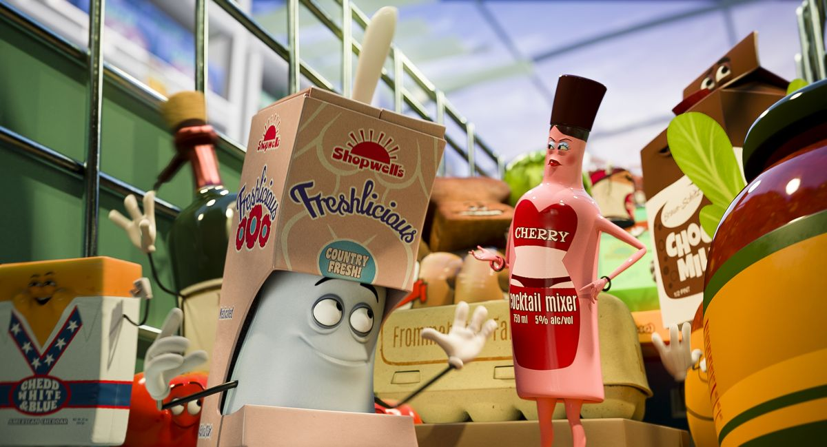 Кадр из мультфильма Полный расколбас