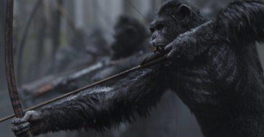 «Война планеты обезьян» - первый трейлер