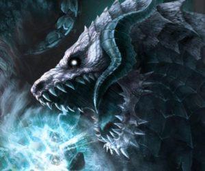 """Ледяной дракон. """"Игра престолов"""""""