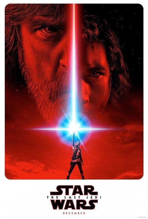 Звёздные Войны Последние джедаи - постер