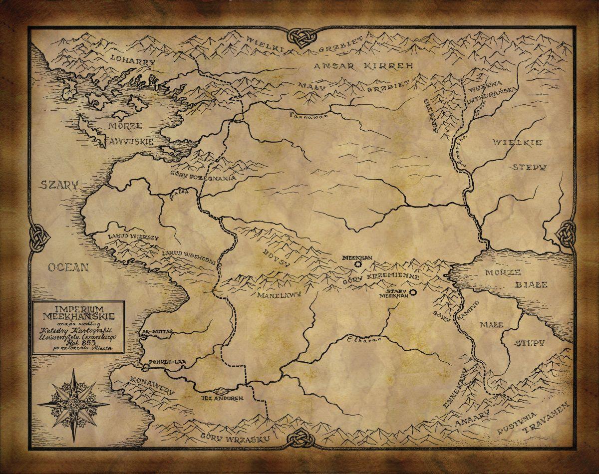 Карта Меекхана