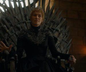 Серсея на Железном троне