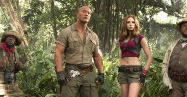 «Джуманджи: Зов джунглей» - первый трейлер