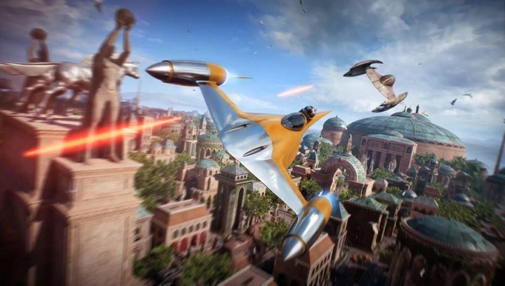 E3 2017: новый трейлер и геймплей Star Wars Battlefront 2