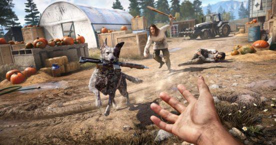 Far Cry 5 - собака