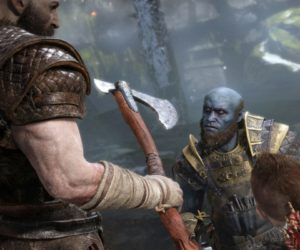 "Кадр из игры ""God of War"""