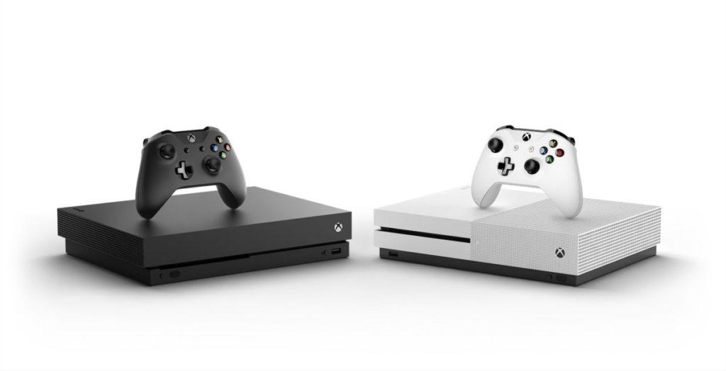 Сравнение размеров Xbox One X и One S