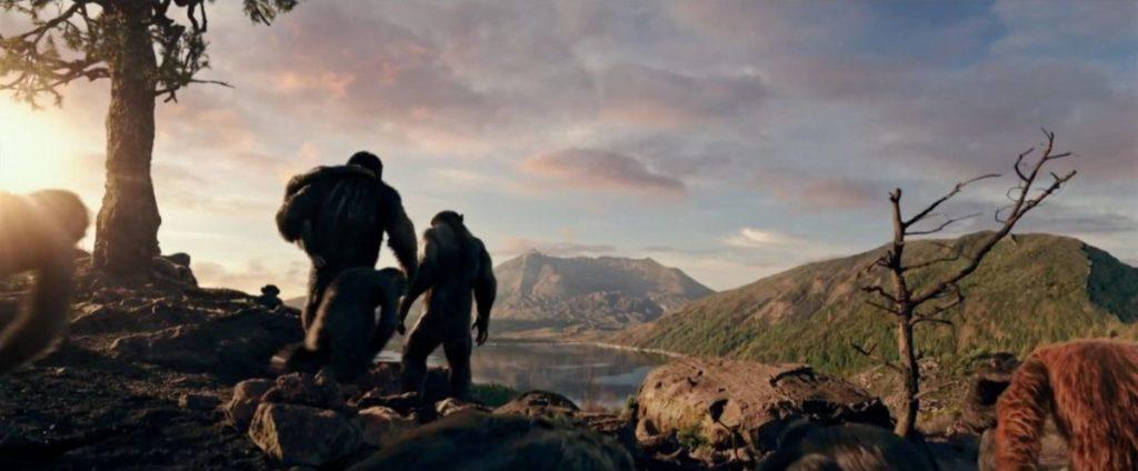 Концовка Войны планеты обезьян