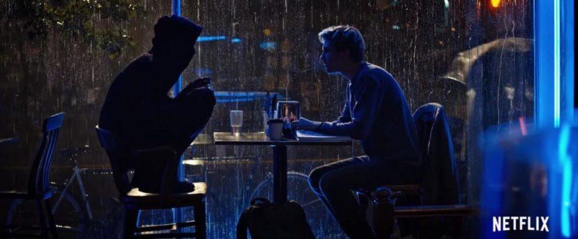Лайт и L - сцена в кафе