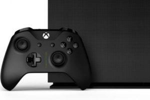 Xbox One X Project Scorpio Edition геймпад и вид сбоку