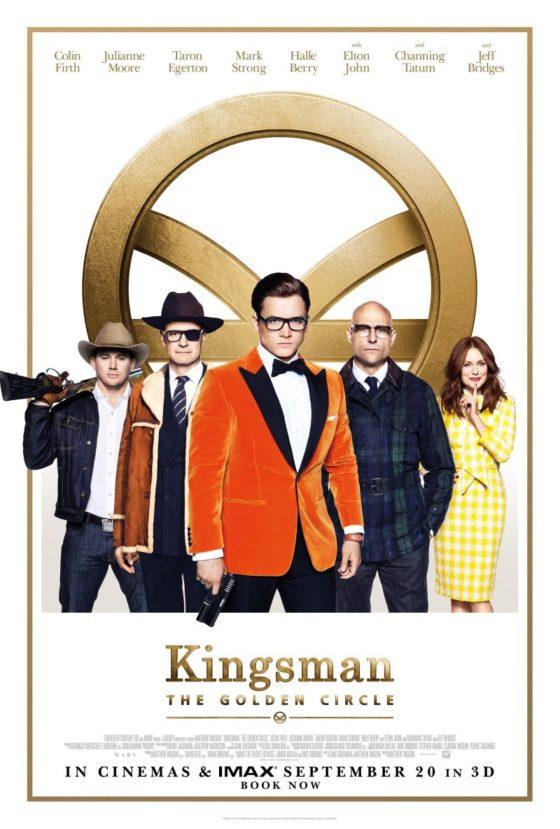 Kingsman: Золотое кольцо - постер