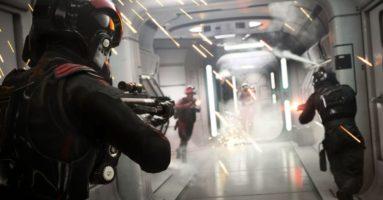 Сюжетный трейлер «Star Wars Battlefront 2»