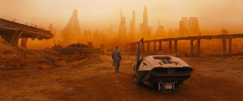"""""""Бегущий по лезвию 2049"""" - пустыня"""