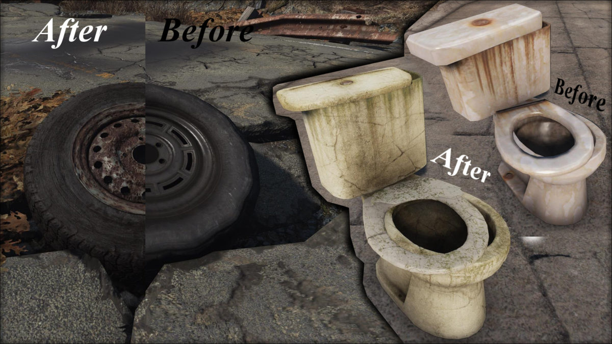 Fallout 4 HD textures