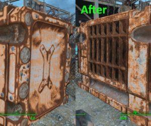 Fallout 4 ретекстур