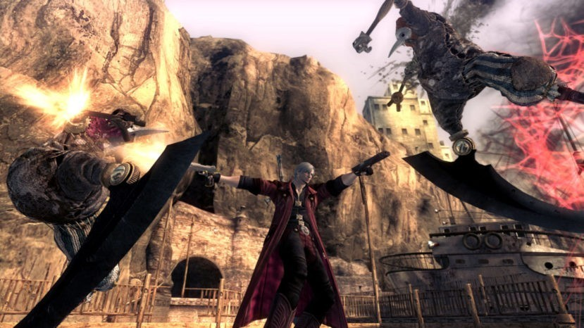 Кадр из Devil May Cry 4