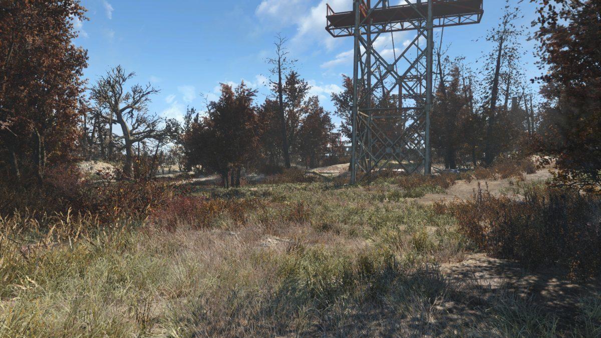 Fallout 4 мод на растительность