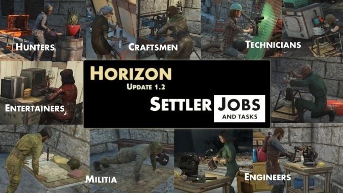 horizon - профессии