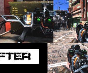 Fallout 4 HD текстуры плазменного оружия