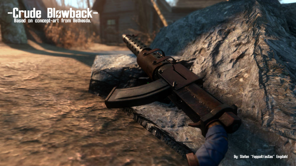 Пистолет-пулемёт Ублюдок
