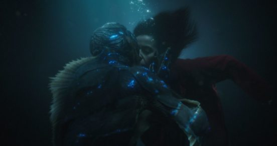 Shape of Water постер