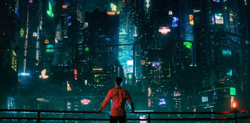"""Altered carbon"" - город"