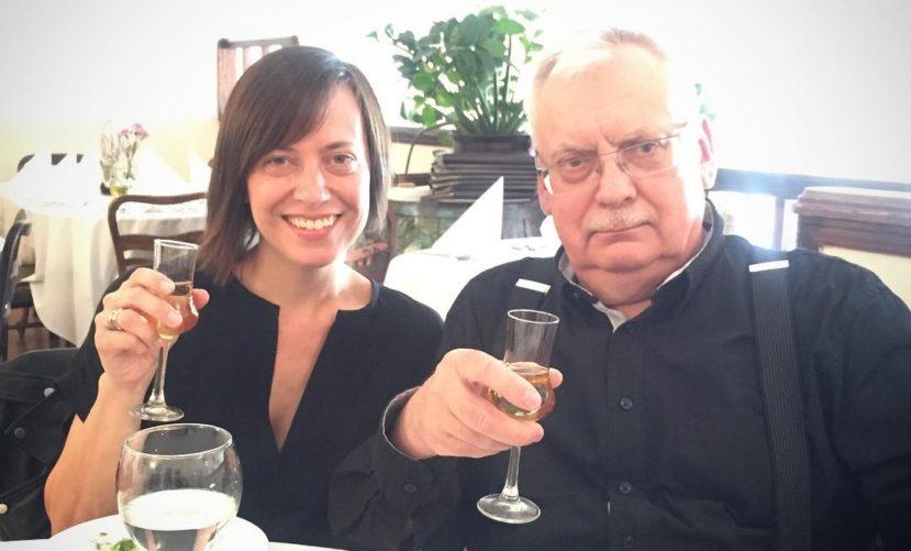 Лорен Шмидт и Анджей Сапковский
