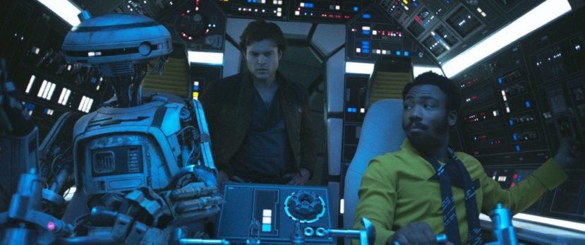 """L3 - кадр из фильма """"Хан Соло: Звёздные войны. Истории"""""""