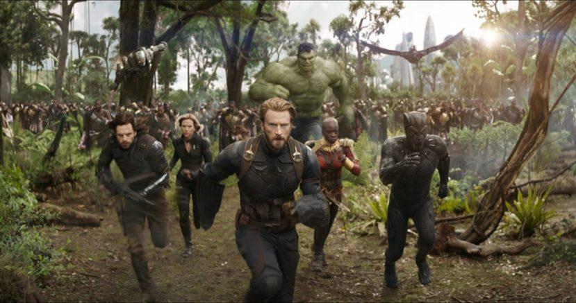"""""""Мстители: Война бесконечности"""""""