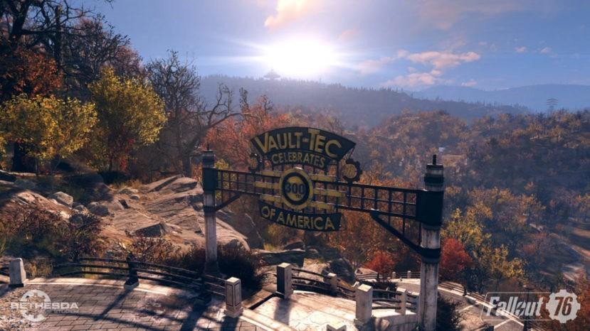 Fallout 76 - растительность