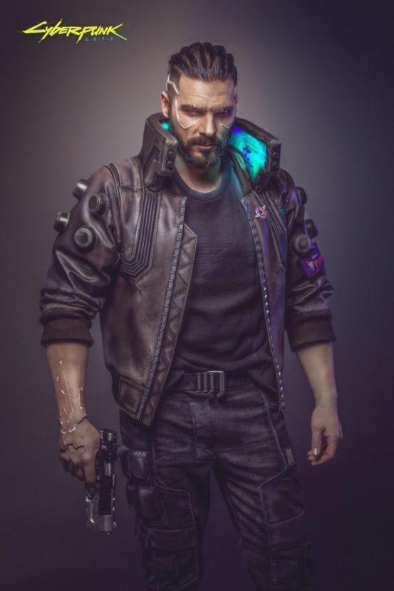 Главный герой Cyberpunk 2077
