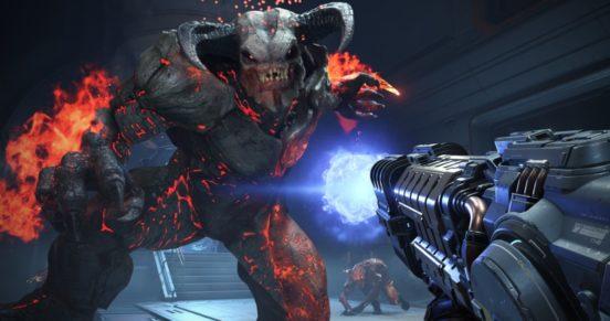 Первый геймплей и подробности Doom Eternal