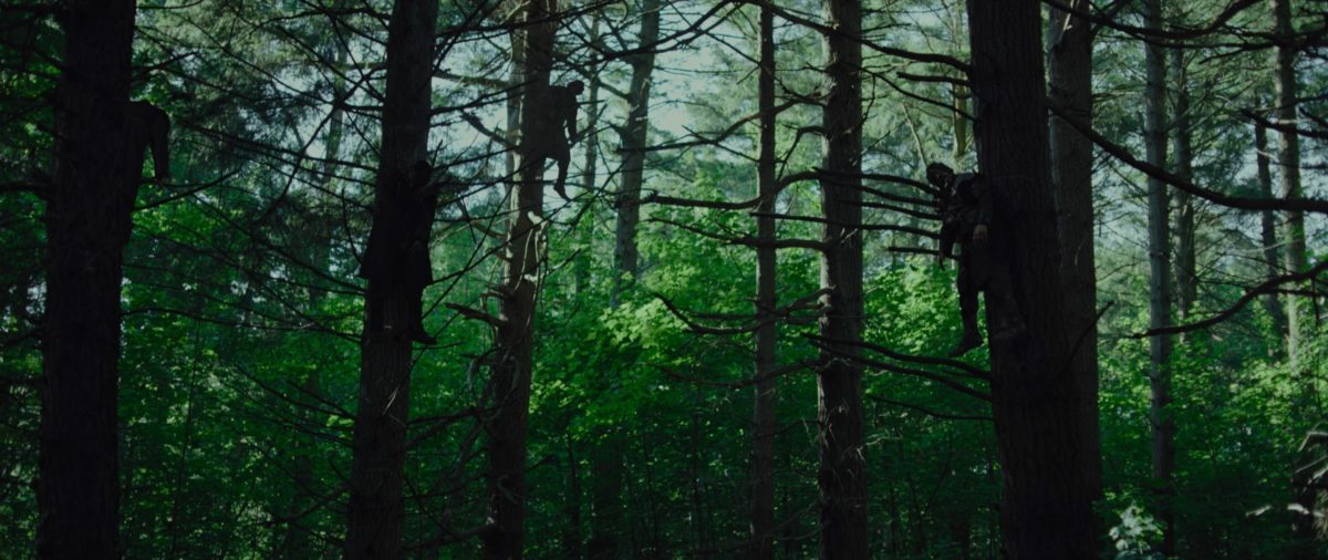 """Апостол"" - сцена в лесу"