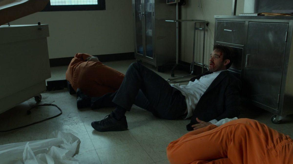 """""""Сорвиголова"""": сезон 3 - сцена в тюрьме"""