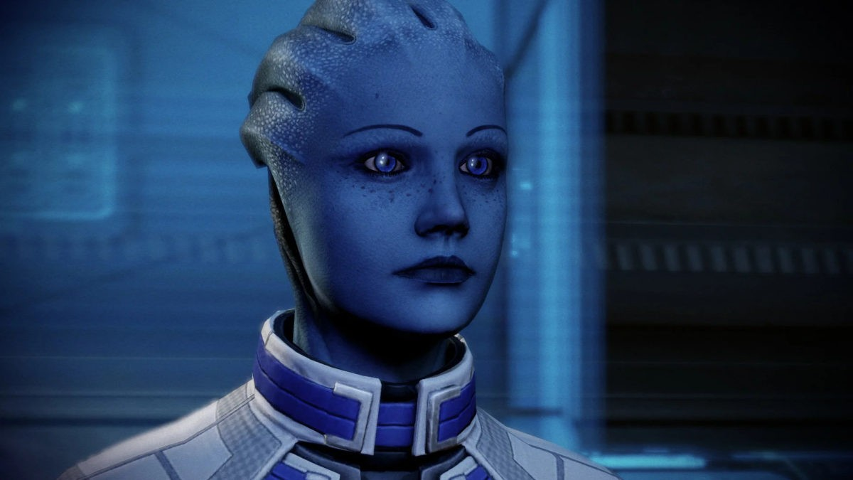 Лиара Т'Сони в Mass Effect 3.