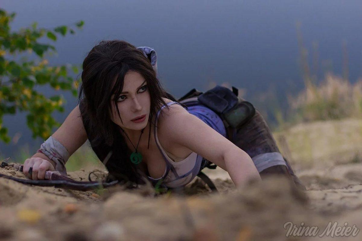 Лара Крофт из перезапуска Tomb Raider 2013-го года.