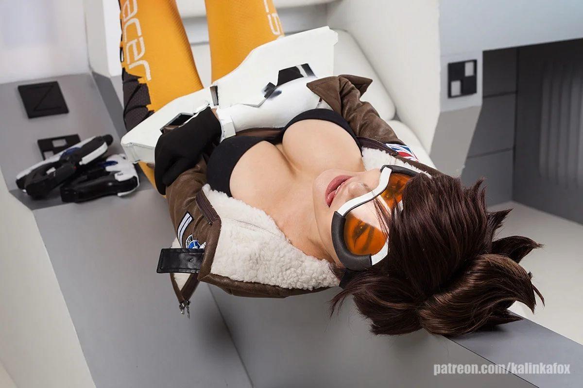 Трейсер (Overwatch). KalinkaFox nude