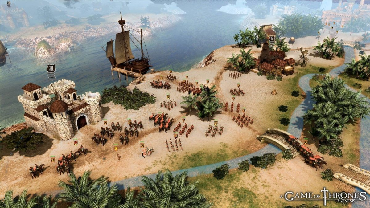 "A Game of Thrones: Genesis - стратегия по ""Игре престолов"""