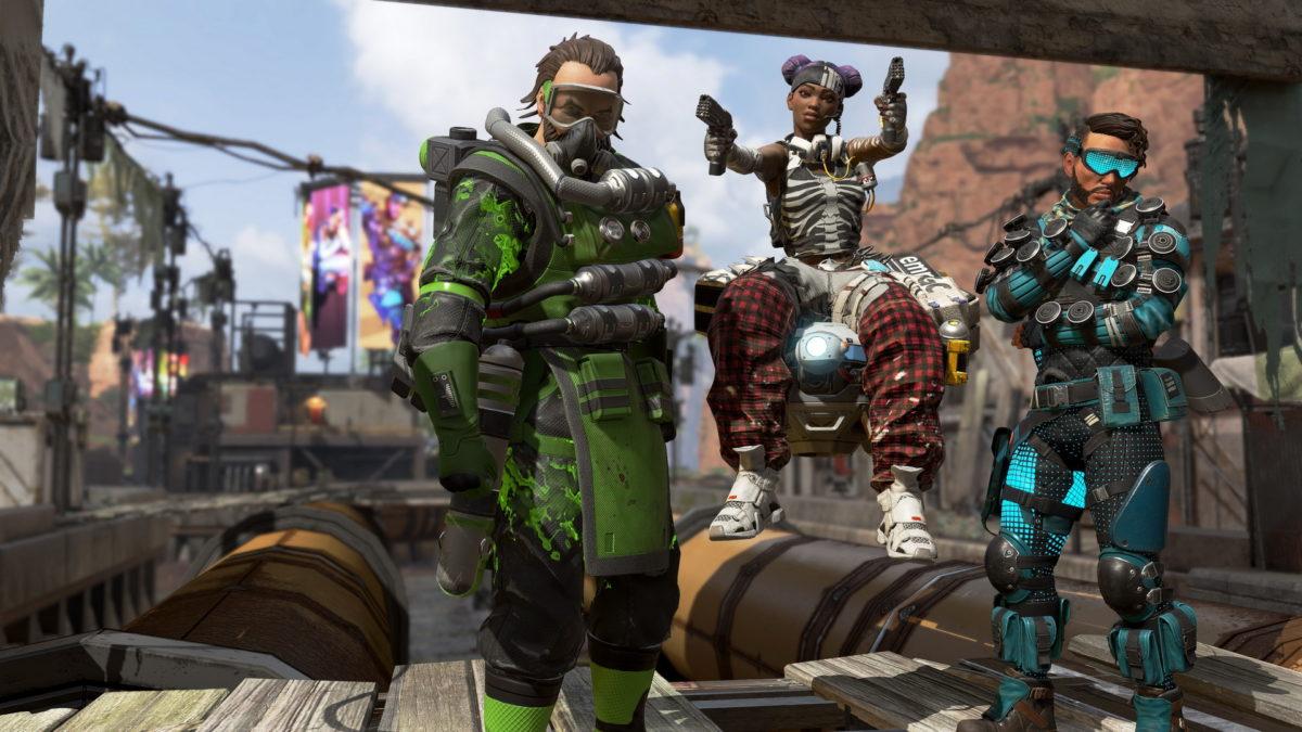 Apex Legends персонажи
