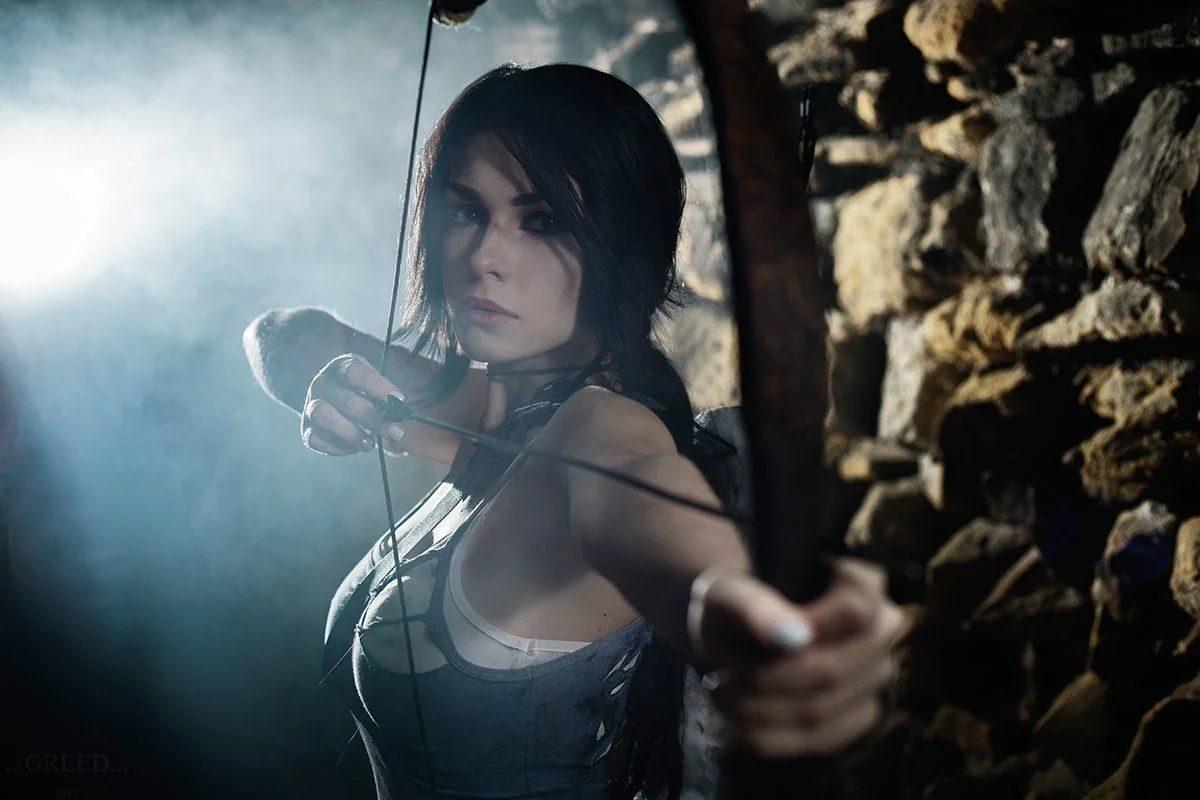 Лара Крофт в Tomb Raider 2013