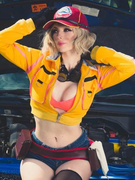 Katyuska MoonFox Синди Final Fantasy XV косплей