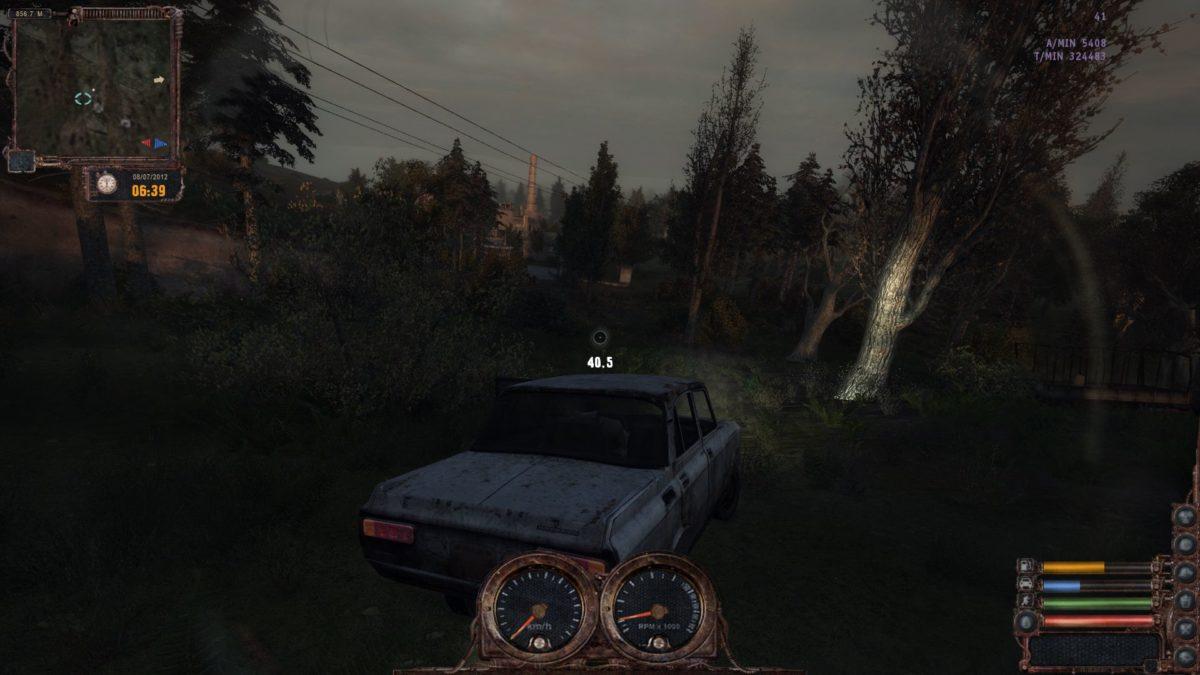 Транспорт в Lost Alpha DC