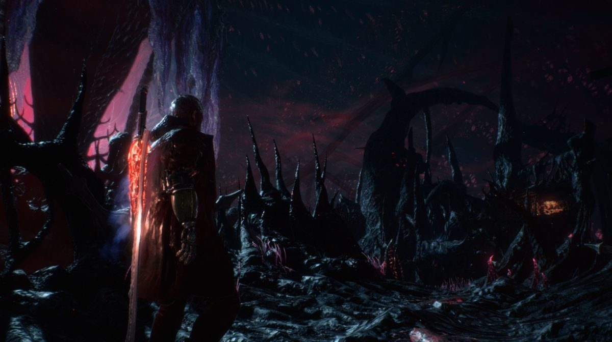 Кадр из игры Devil May Cry 5.