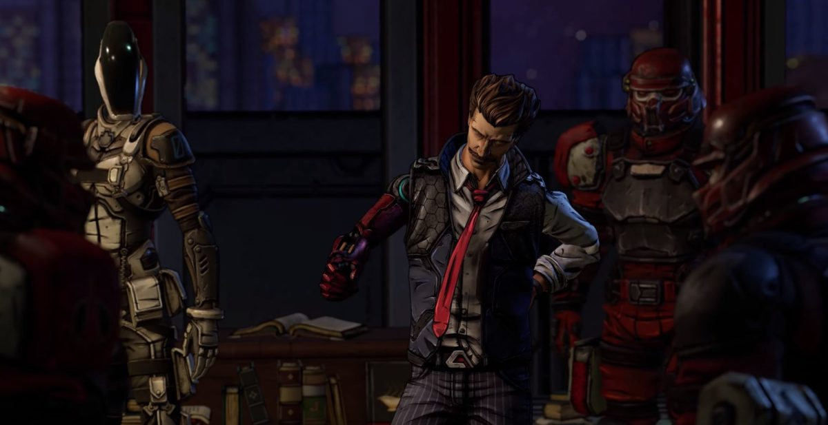 Риз из Tales from the Borderlands