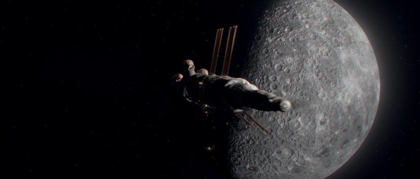 """Кадр из фильма """"К звездам"""" - Луна"""