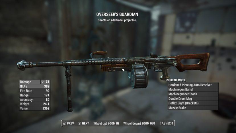 Расширенные оружейные модификации