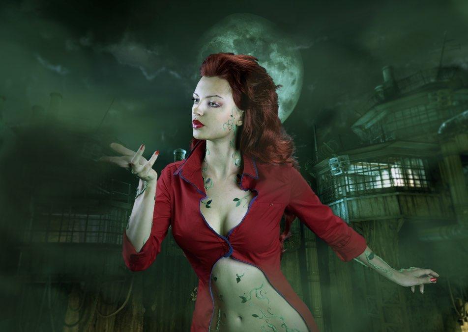 Poison Ivy - Batman Arkham Asylum